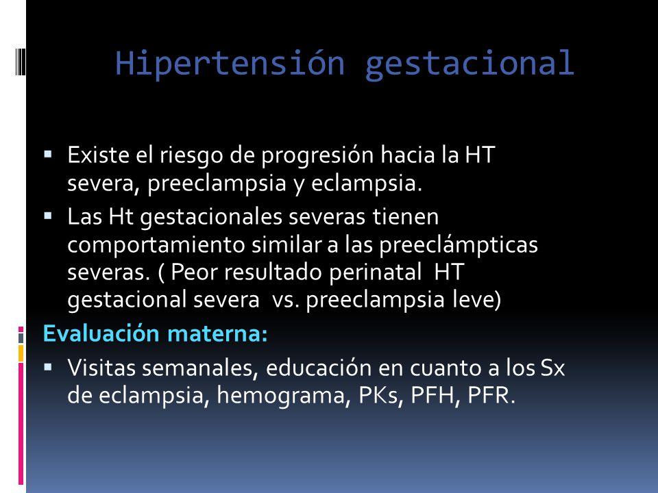 Hipertensión gestacional