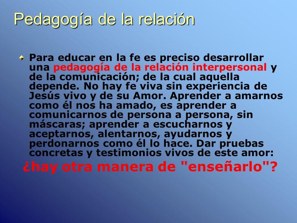 Pedagogía de la relación