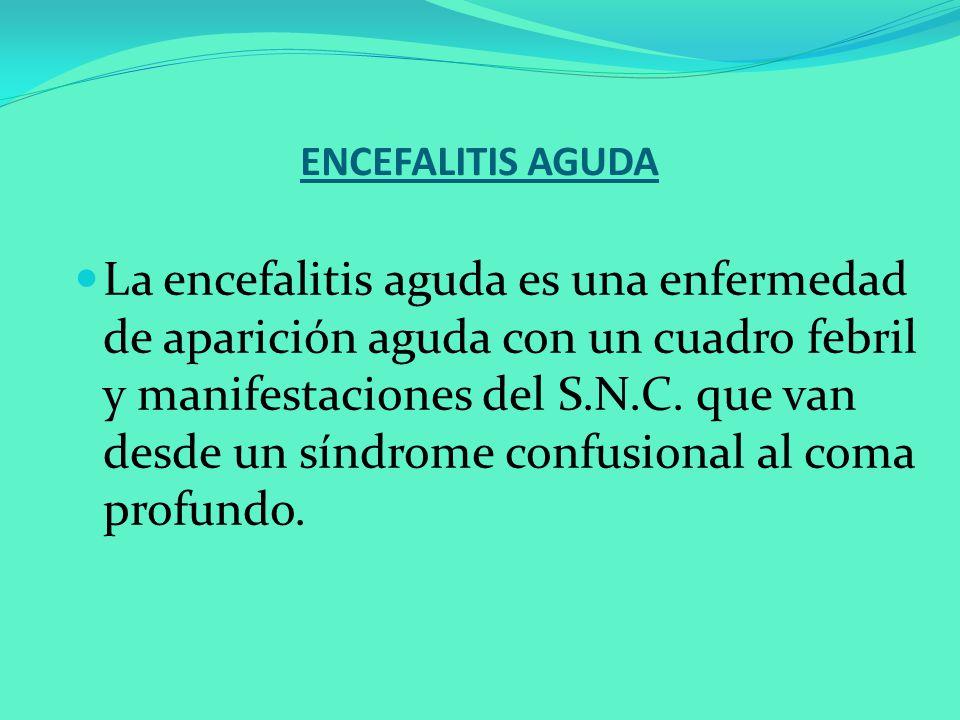 ENCEFALITIS AGUDA
