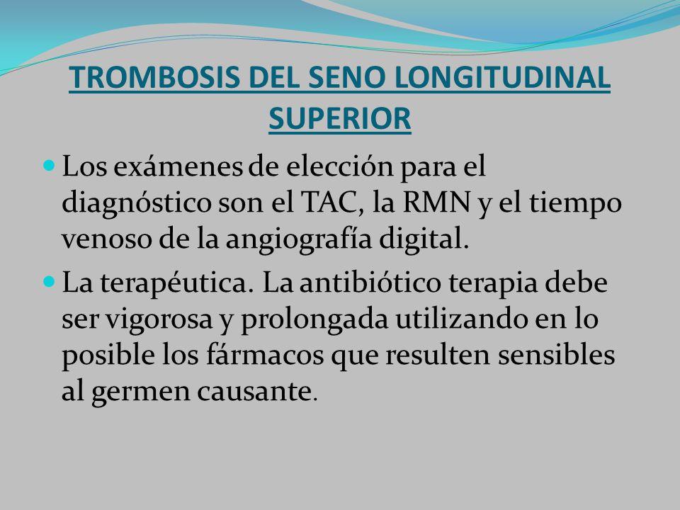 TROMBOSIS DEL SENO LONGITUDINAL SUPERIOR
