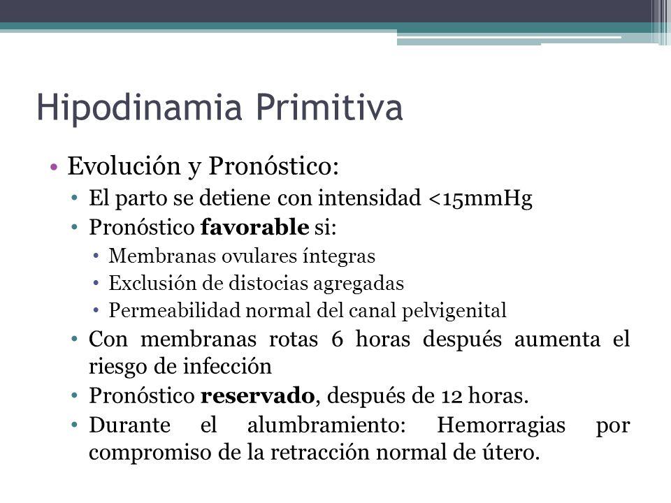 Hipodinamia Primitiva