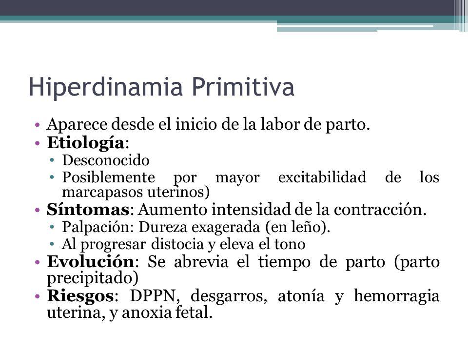 Hiperdinamia Primitiva