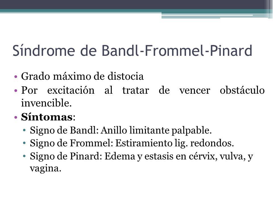 Síndrome de Bandl-Frommel-Pinard