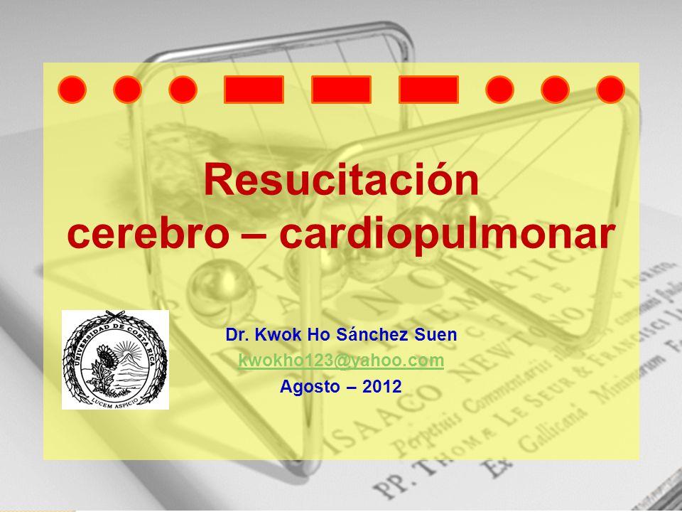 Resucitación cerebro – cardiopulmonar