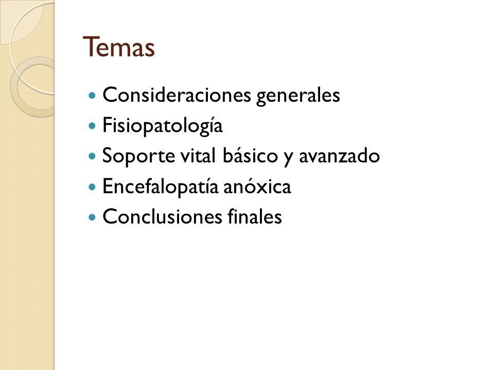 Temas Consideraciones generales Fisiopatología