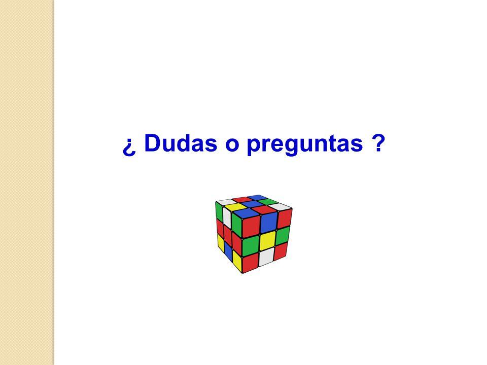 ¿ Dudas o preguntas