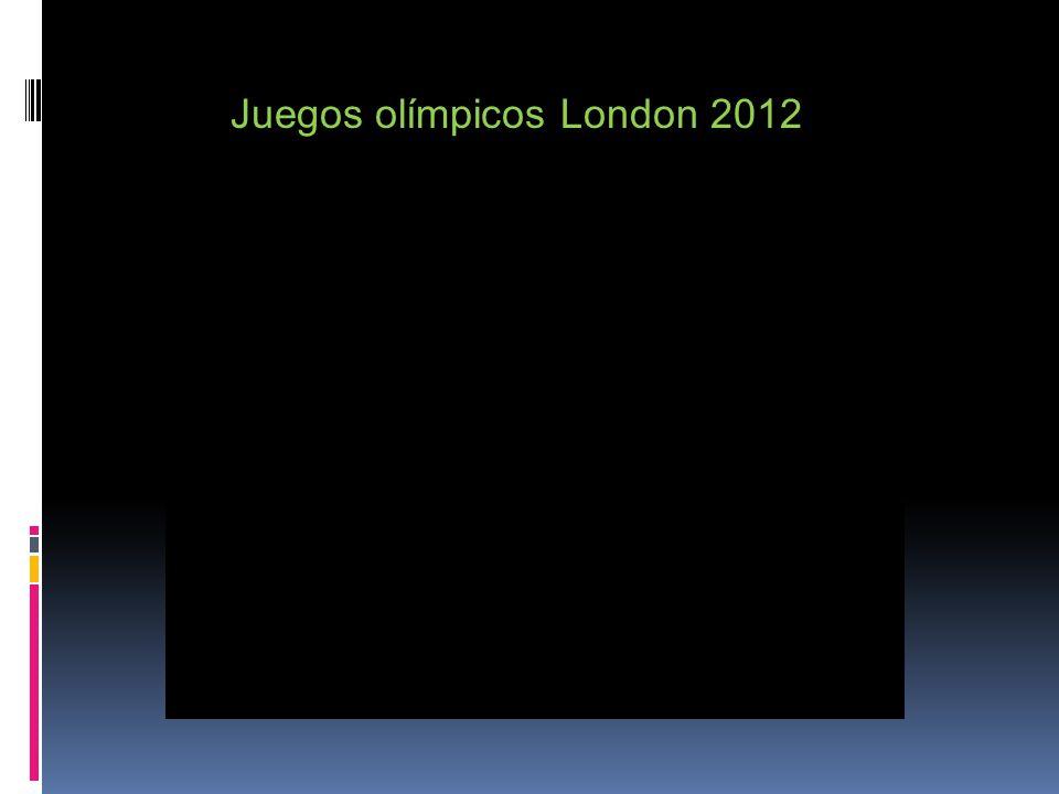 Juegos olímpicos London 2012