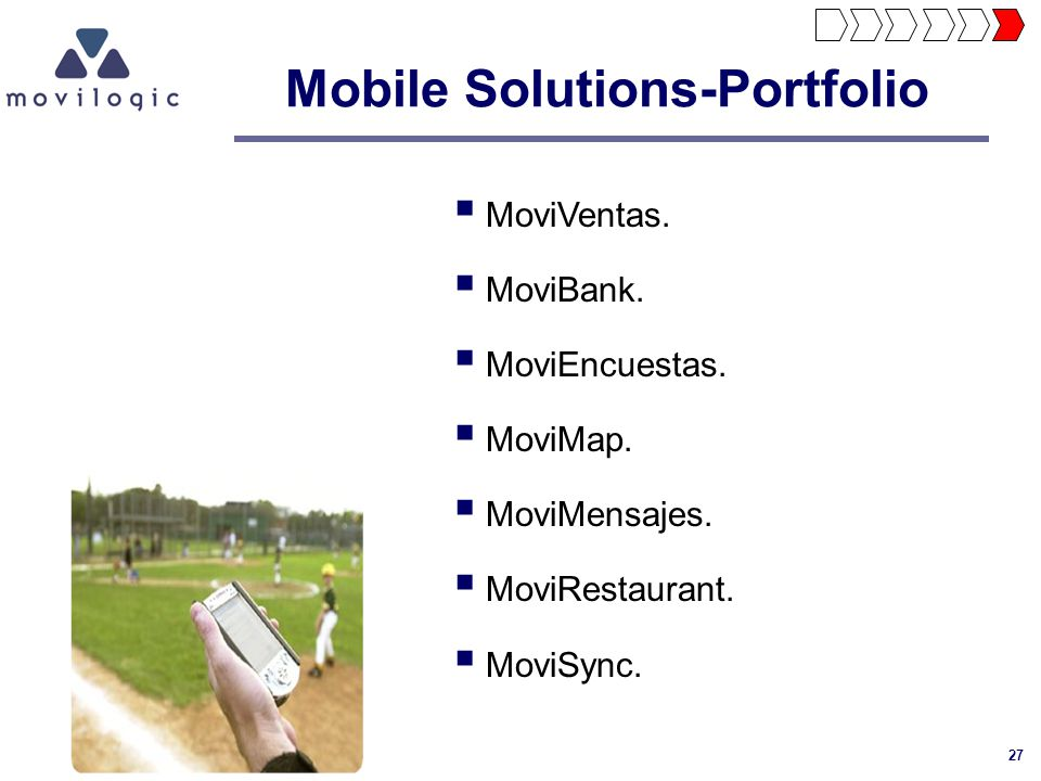 Mobile Solutions-Portfolio