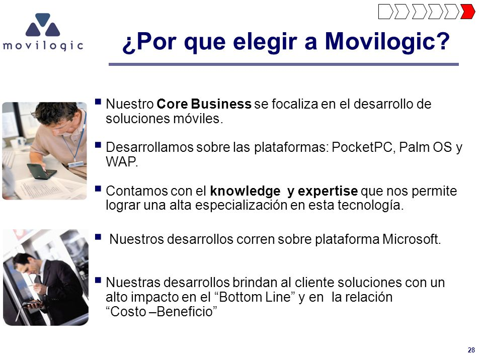 ¿Por que elegir a Movilogic