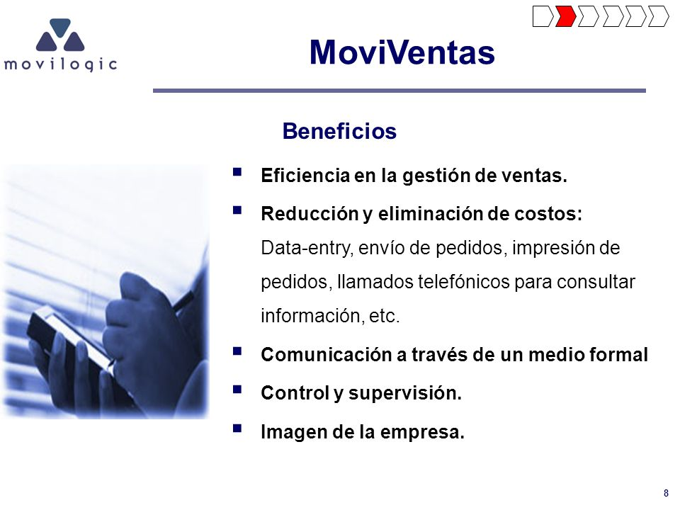 MoviVentas Beneficios Eficiencia en la gestión de ventas.