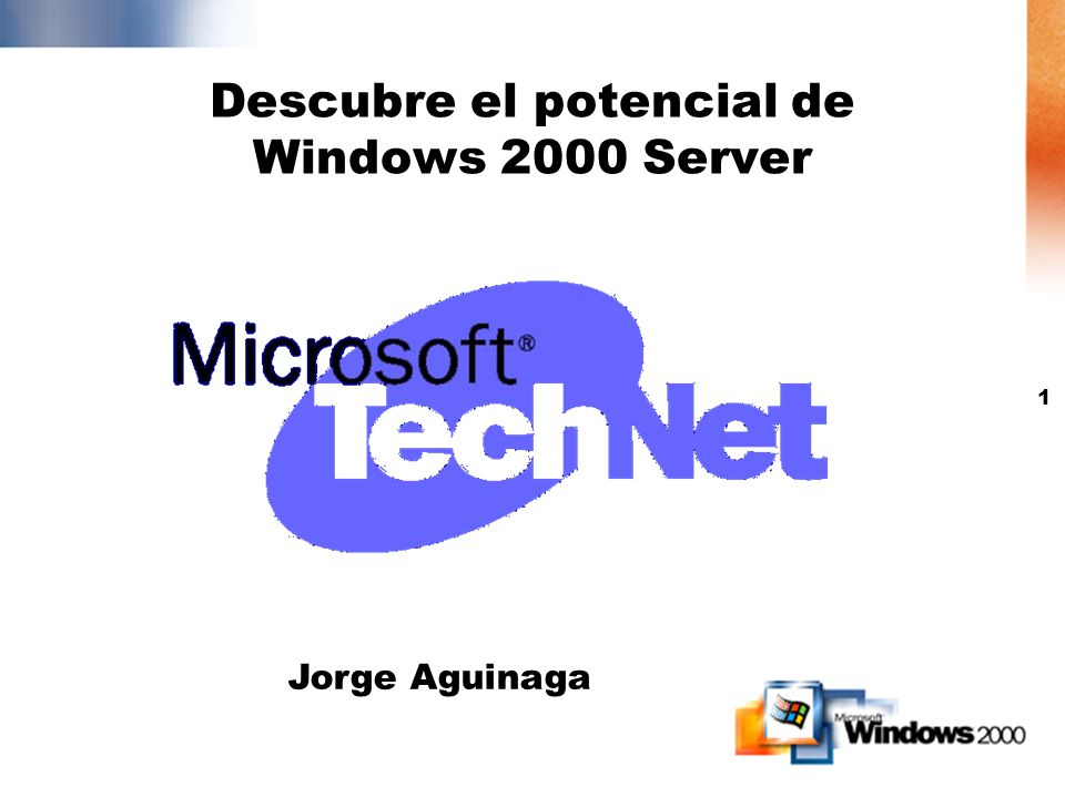 Descubre el potencial de Windows 2000 Server