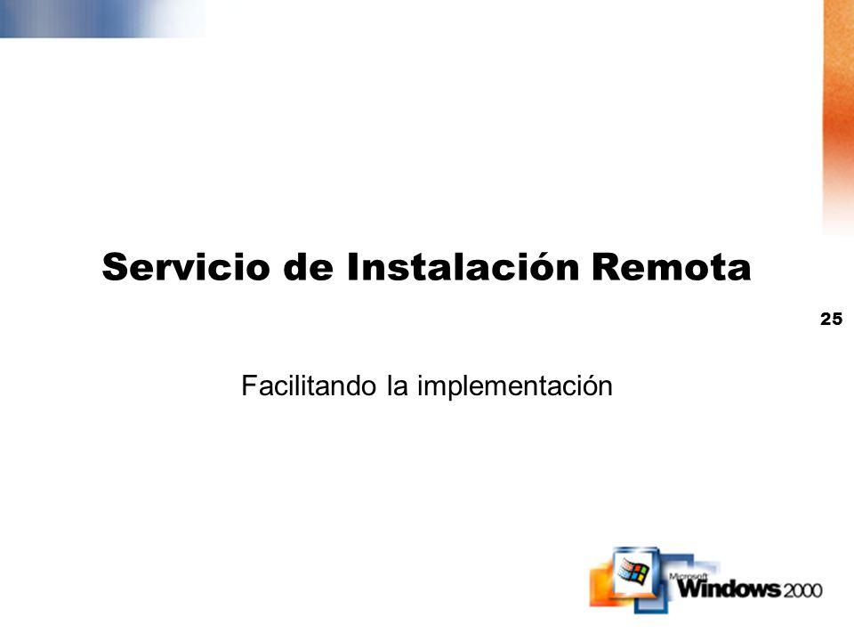 Servicio de Instalación Remota