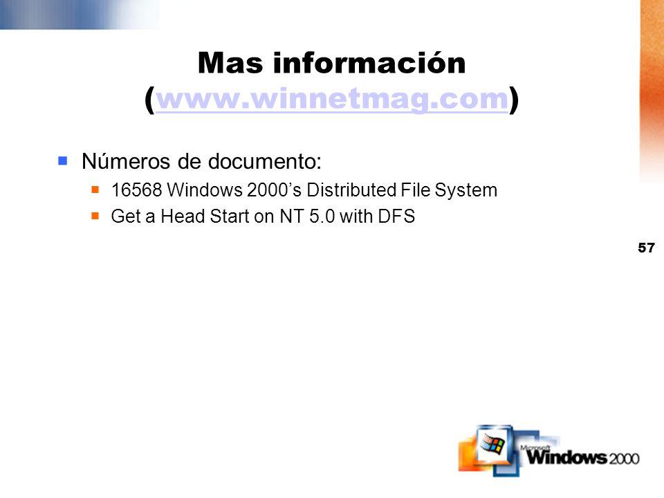 Mas información (www.winnetmag.com)