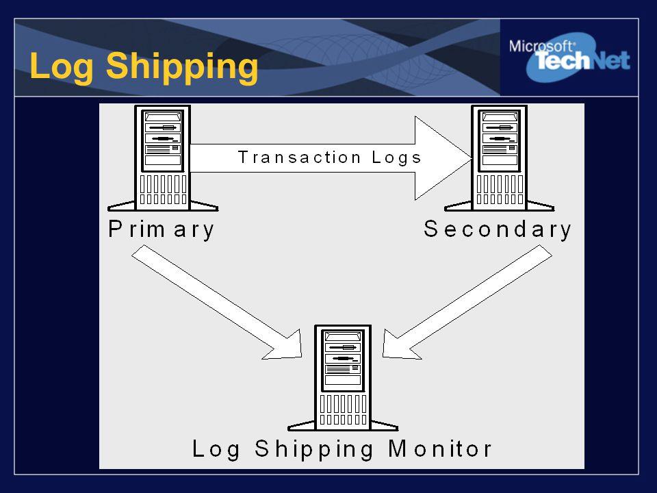 Log Shipping