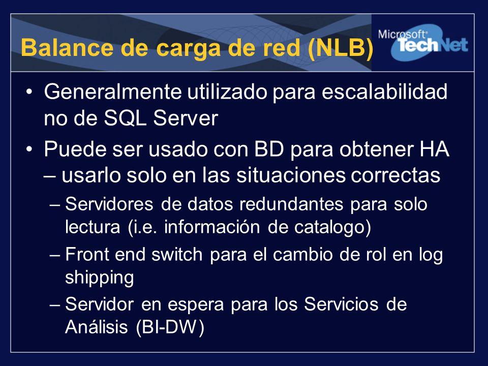 Balance de carga de red (NLB)