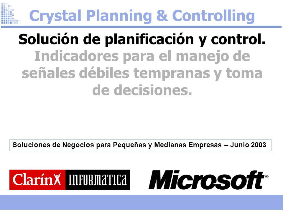 Crystal Planning & Controlling