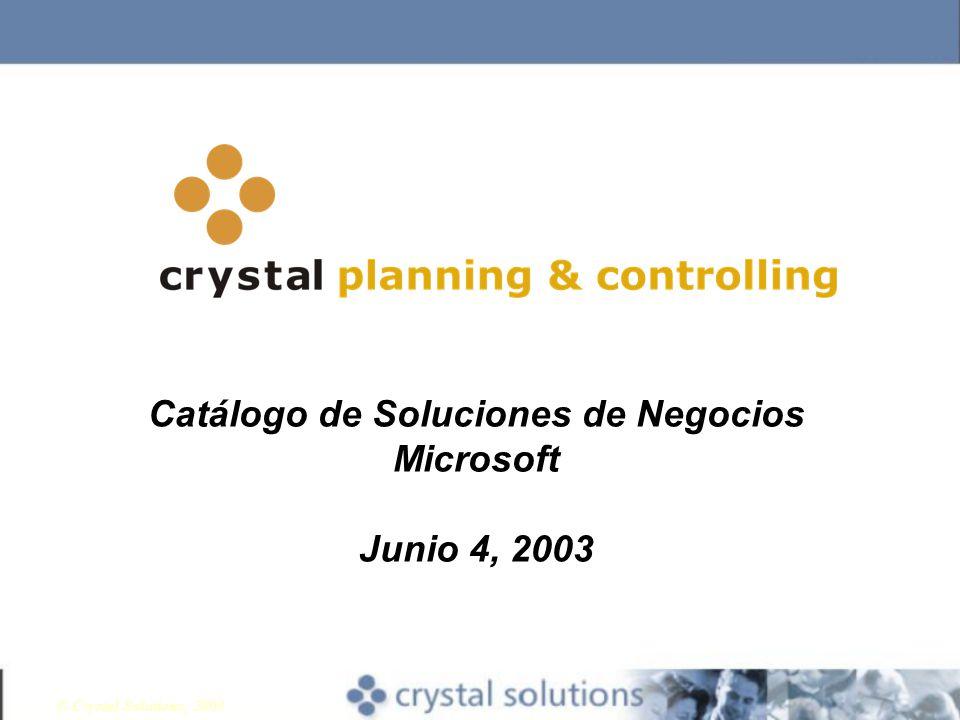 Catálogo de Soluciones de Negocios