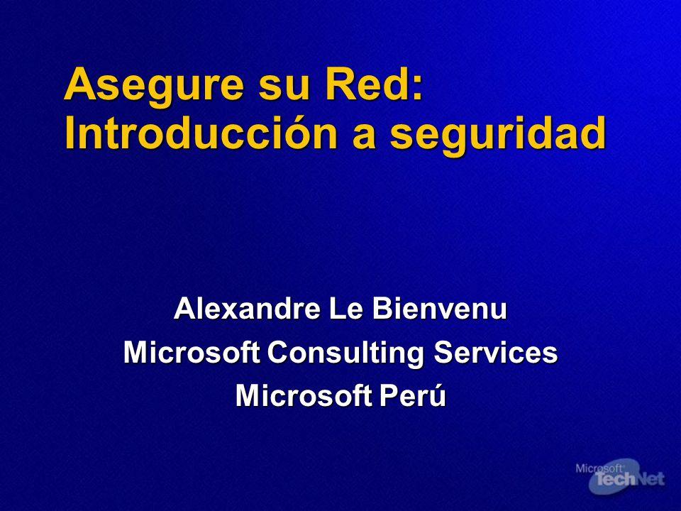 Asegure su Red: Introducción a seguridad