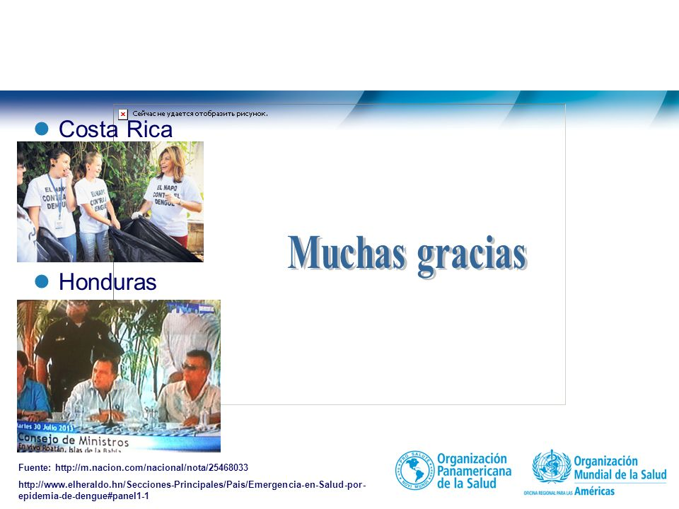 Muchas gracias Costa Rica Honduras