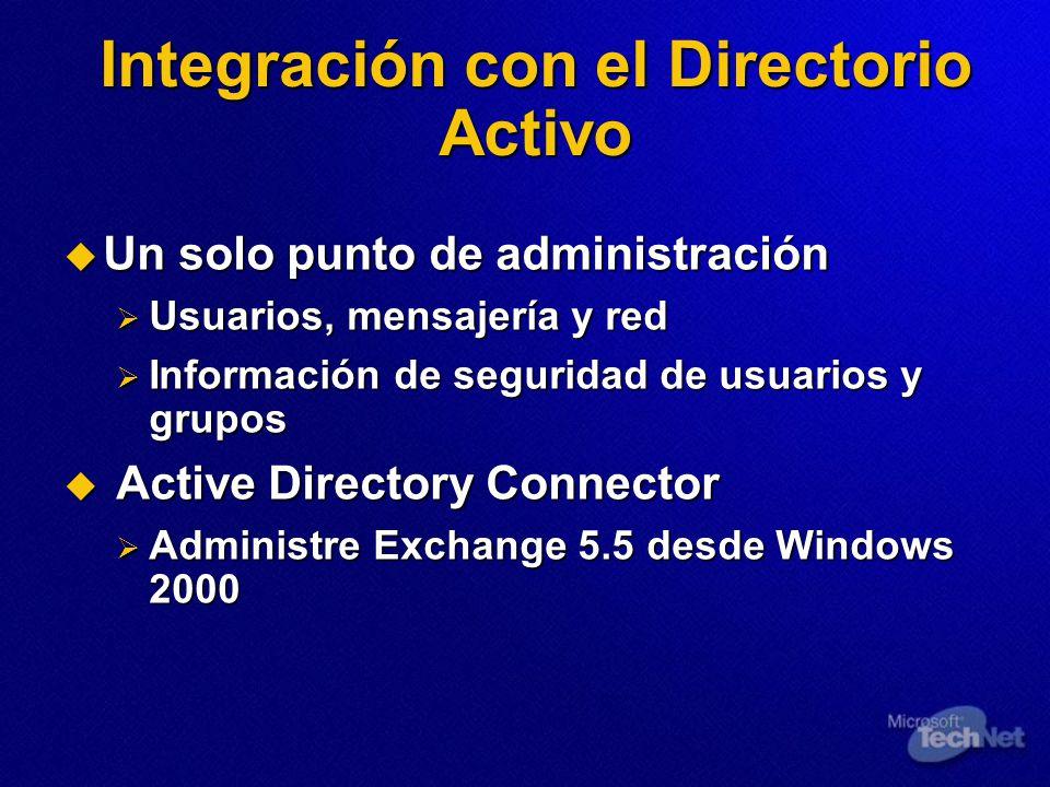Integración con el Directorio Activo