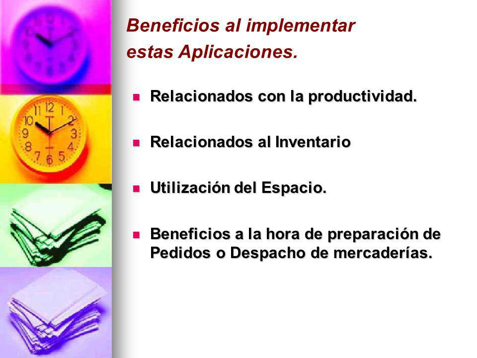 Beneficios al implementar estas Aplicaciones.