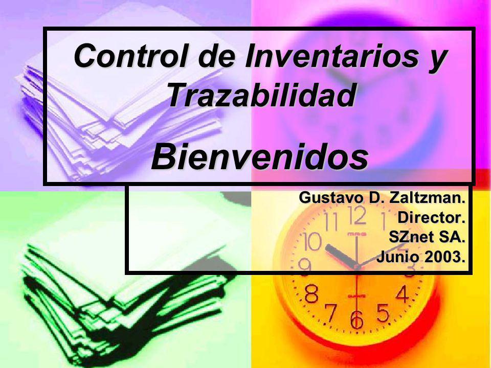 Control de Inventarios y Trazabilidad Bienvenidos