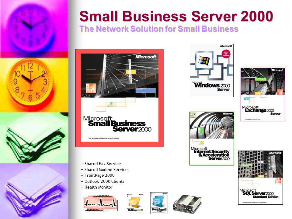 Small Business Server 2000 The Network Solution for Small Business