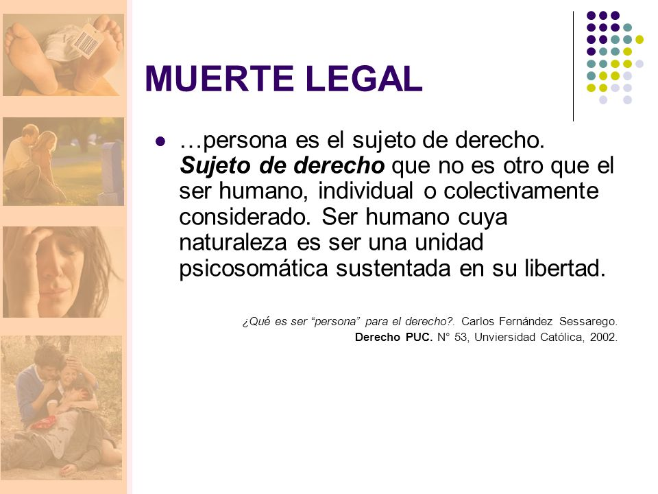 MUERTE LEGAL
