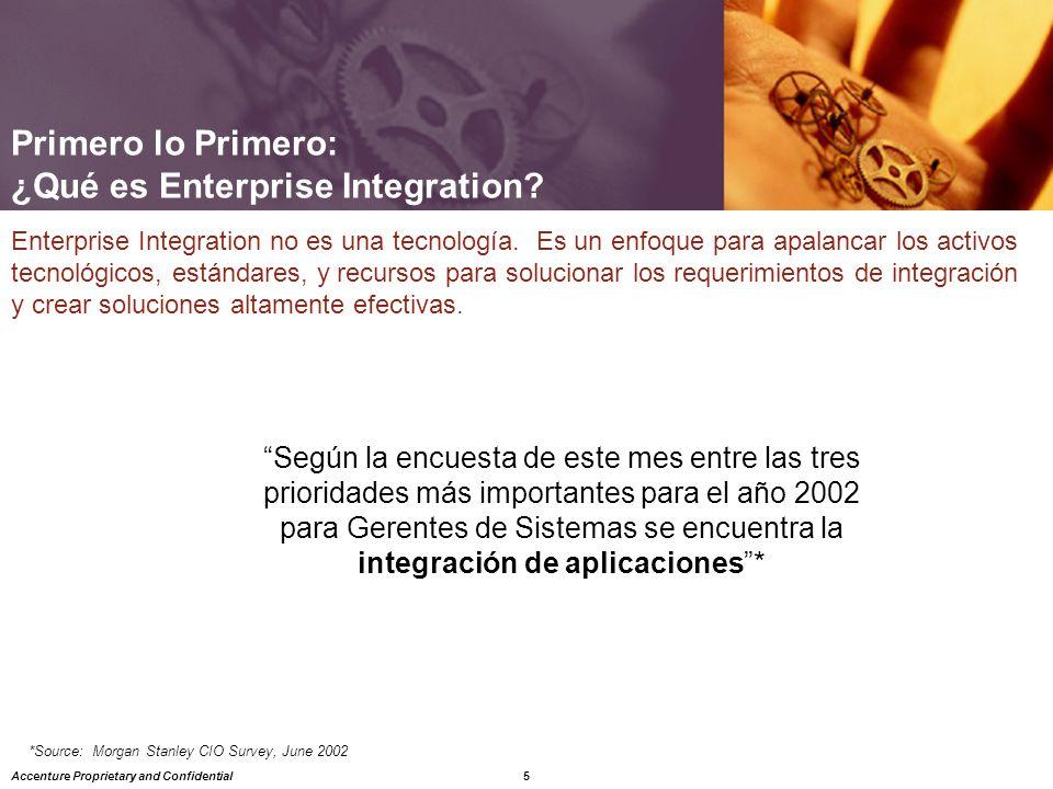 Primero lo Primero: ¿Qué es Enterprise Integration