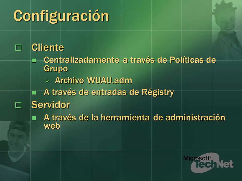 Configuración Cliente Servidor