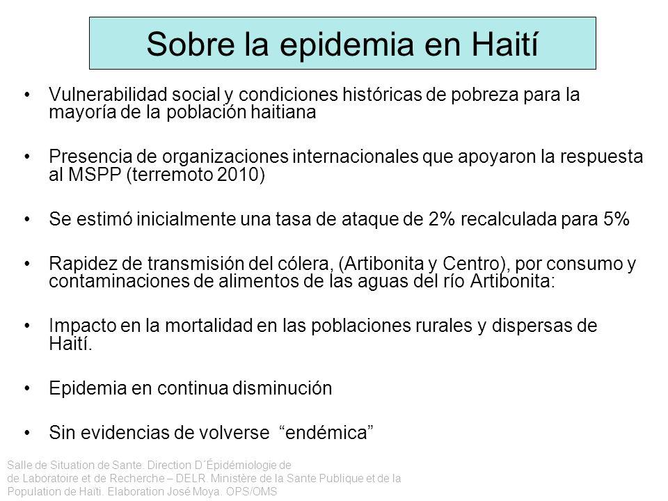 Sobre la epidemia en Haití