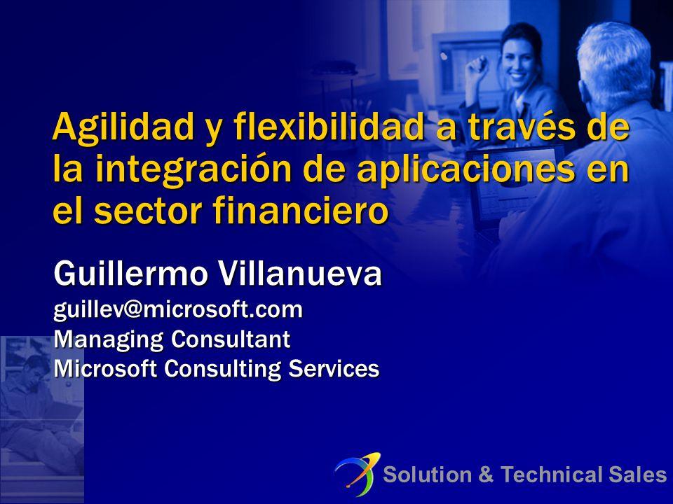 Agilidad y flexibilidad a través de la integración de aplicaciones en el sector financiero