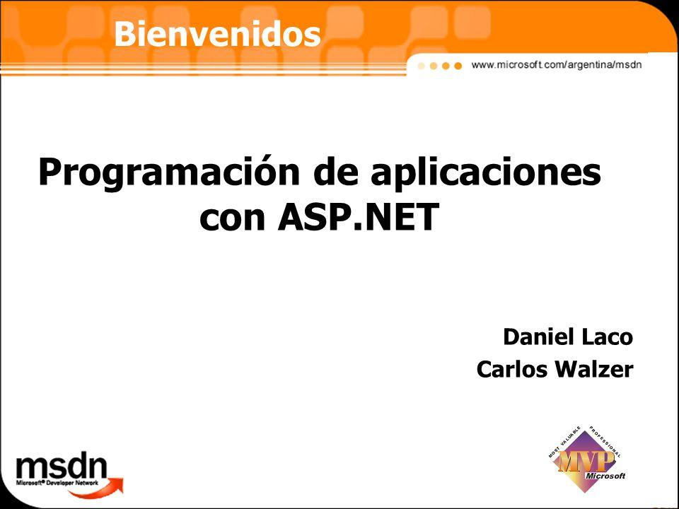 Programación de aplicaciones con ASP.NET