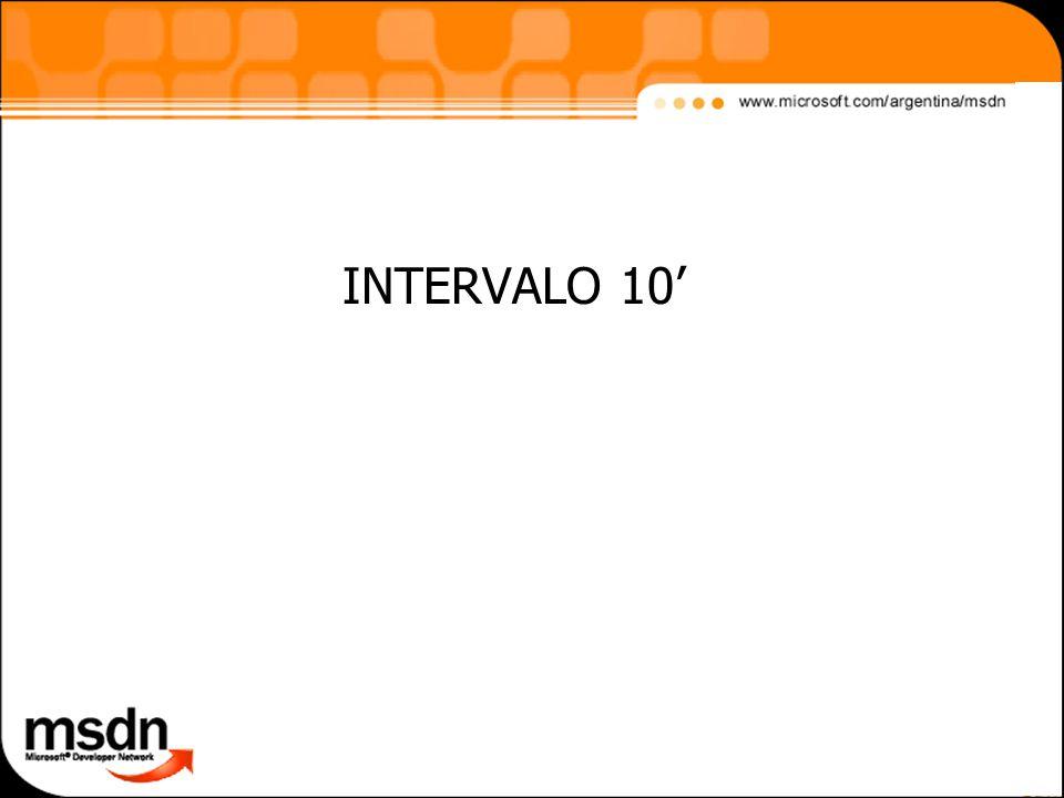 INTERVALO 10'