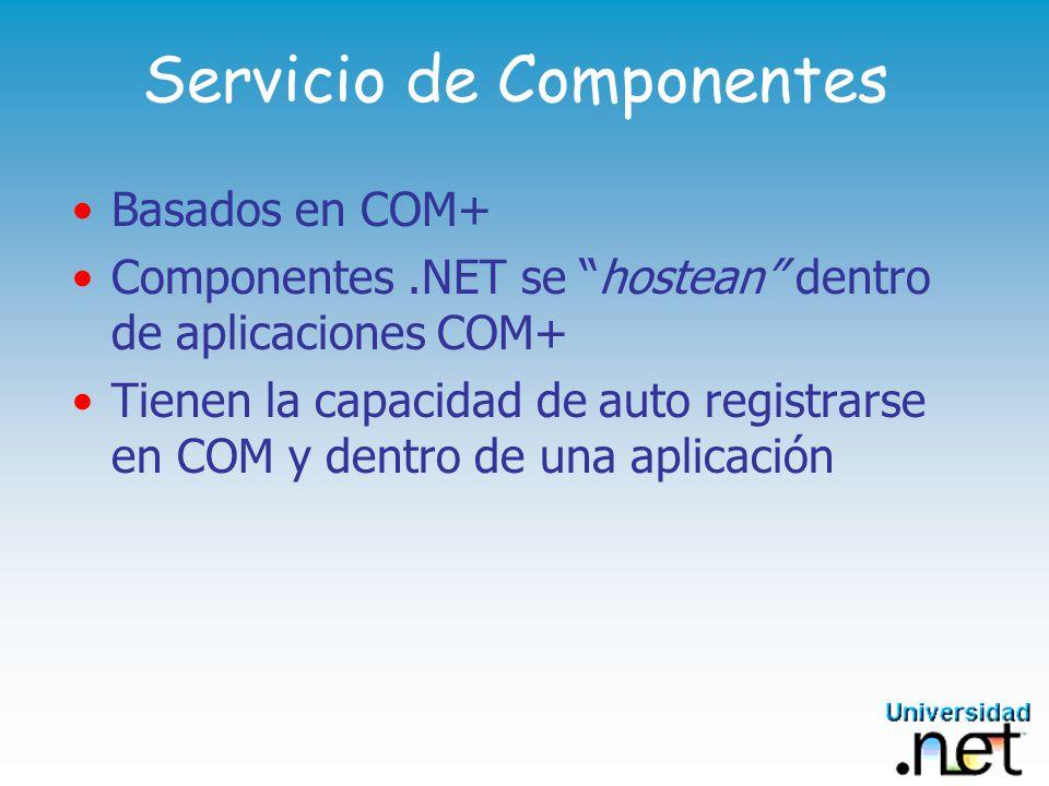 Servicio de Componentes