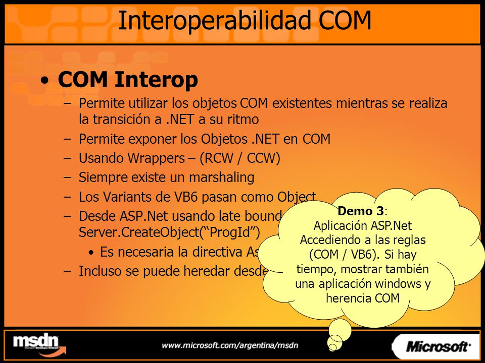 Interoperabilidad COM