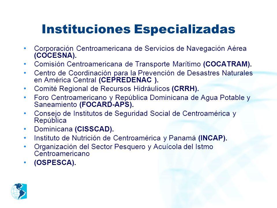 Instituciones Especializadas