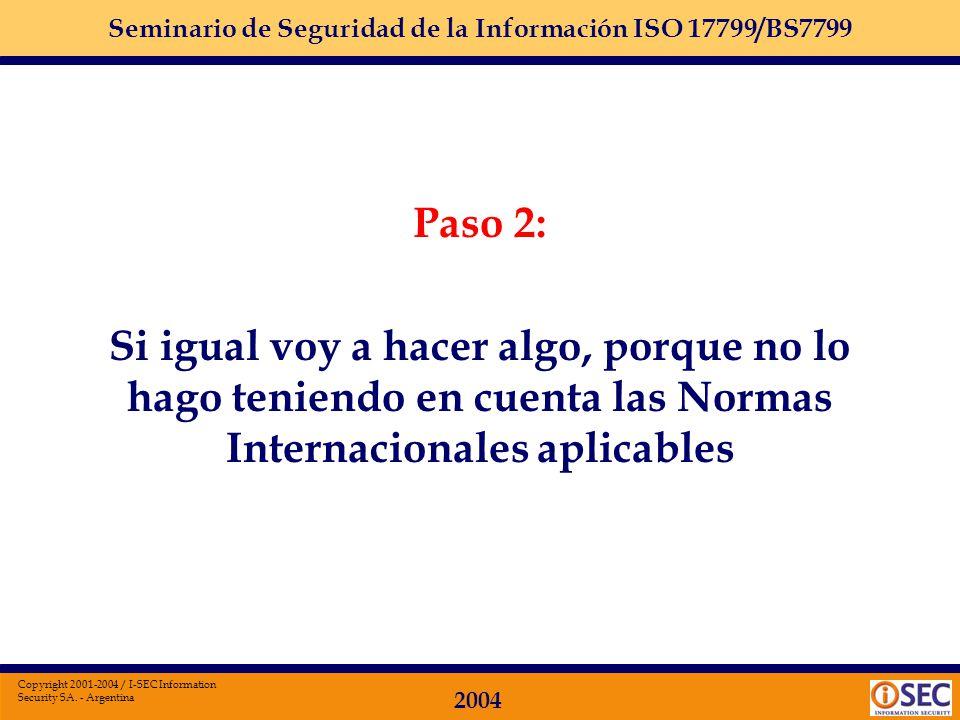 Paso 2: Si igual voy a hacer algo, porque no lo hago teniendo en cuenta las Normas Internacionales aplicables.