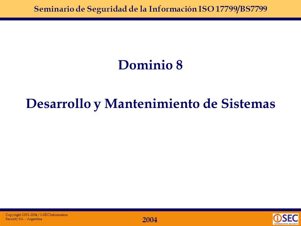 Desarrollo y Mantenimiento de Sistemas