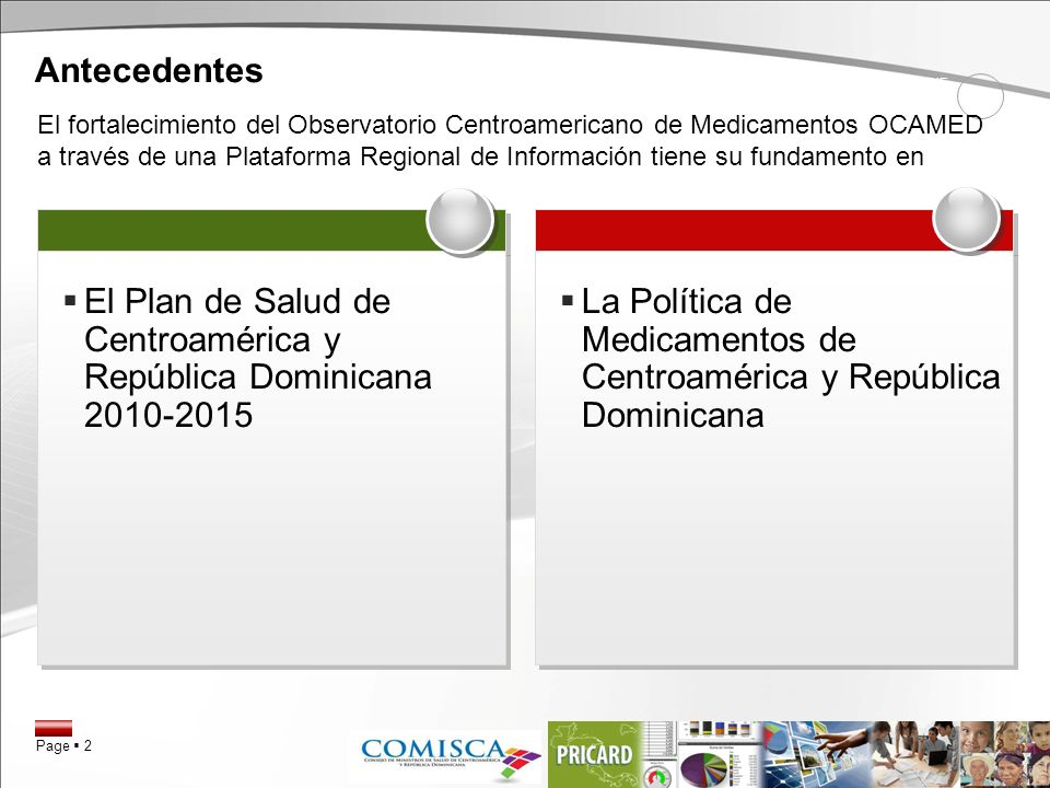 El Plan de Salud de Centroamérica y República Dominicana 2010-2015