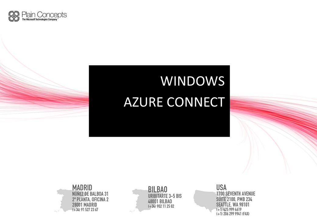 WINDOWS AZURE CONNECT