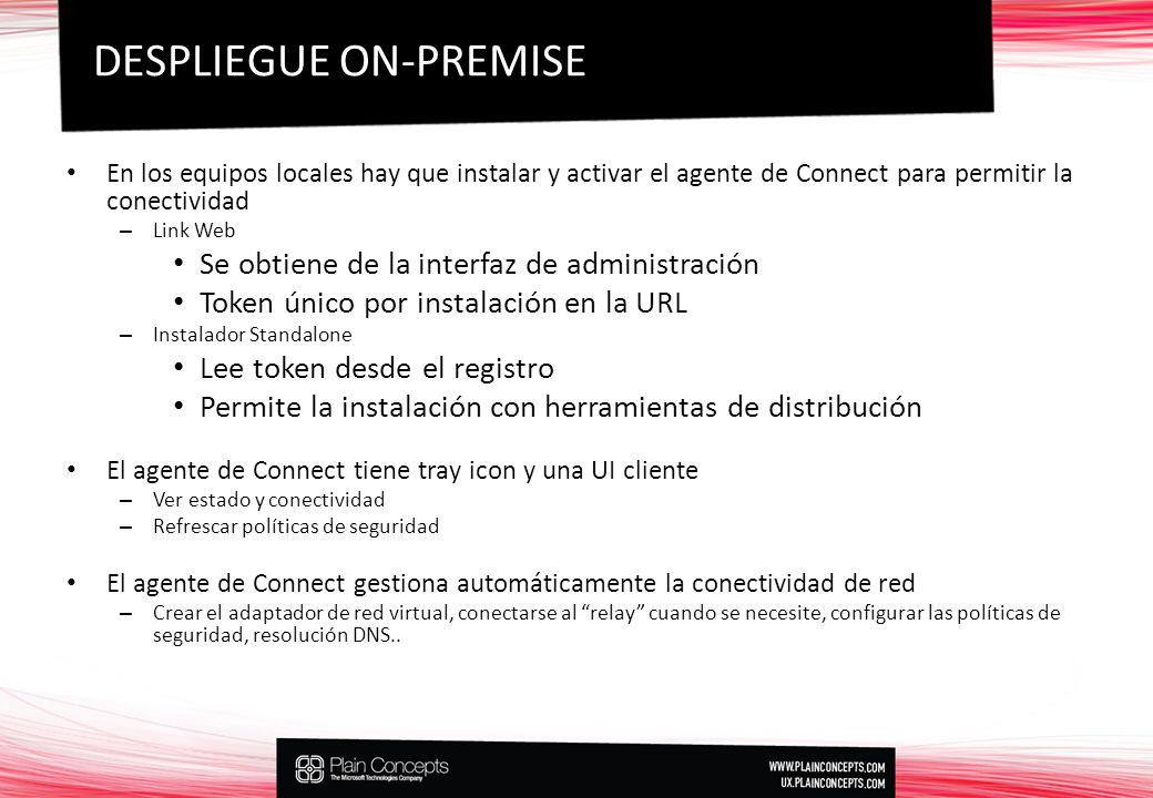 DESPLIEGUE ON-PREMISE