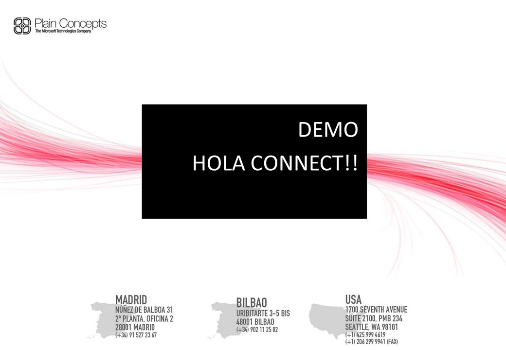 DEMO HOLA CONNECT!!