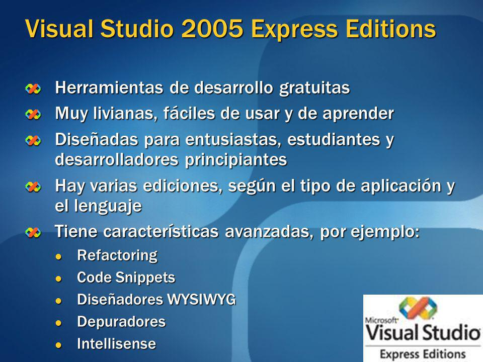 Visual Studio 2005 Express Editions