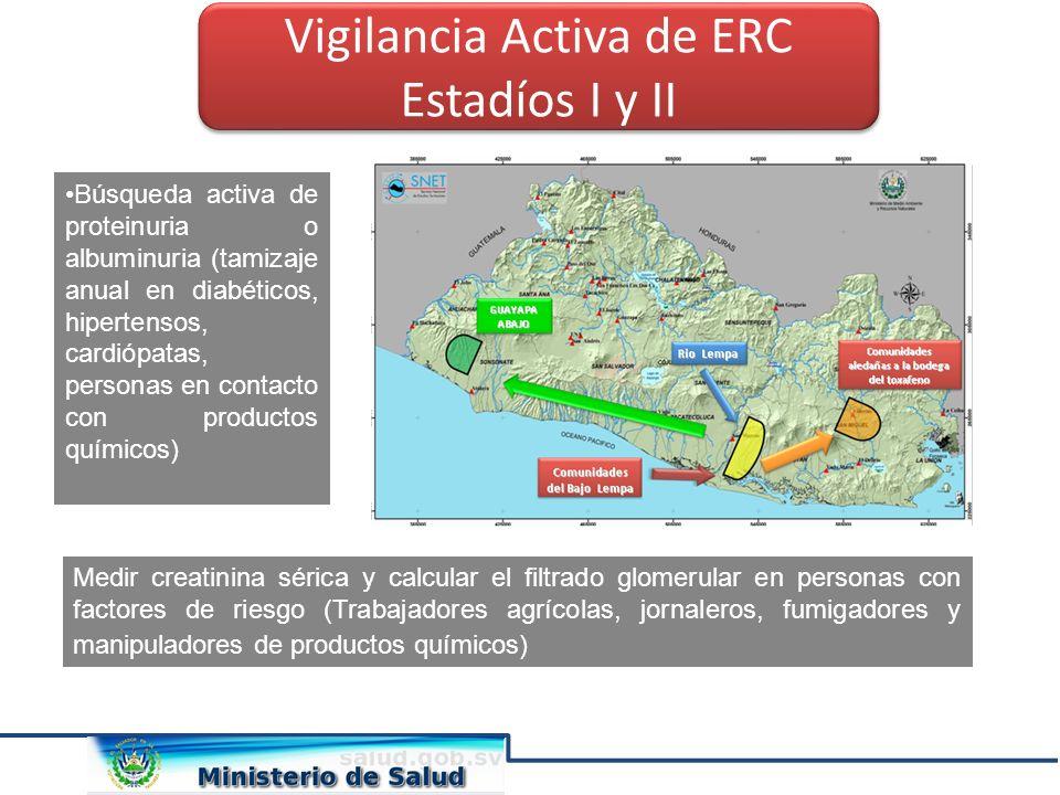 Vigilancia Activa de ERC