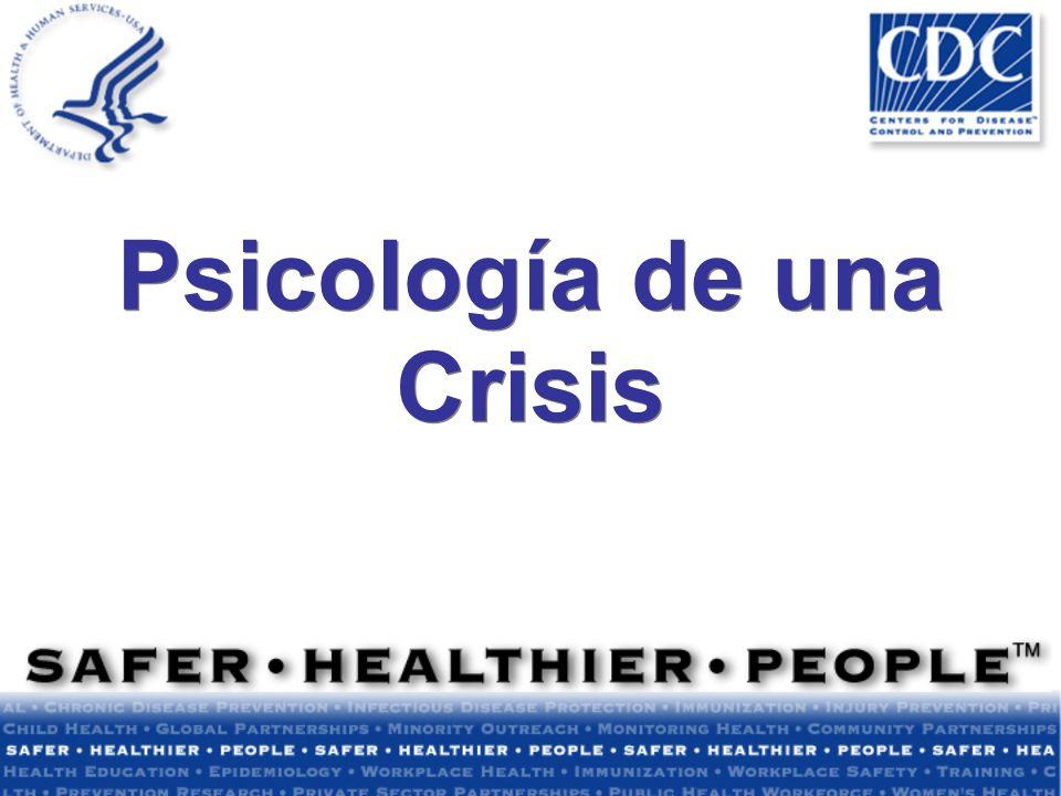 Psicología de una Crisis