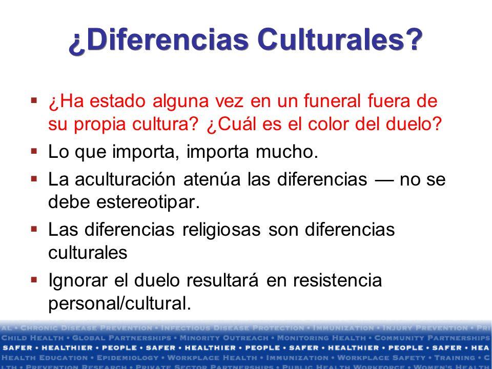 ¿Diferencias Culturales
