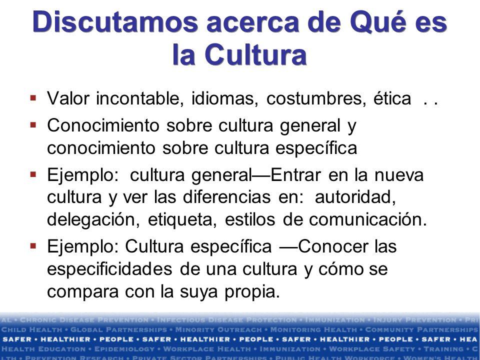 Discutamos acerca de Qué es la Cultura