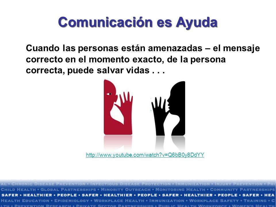 Comunicación es Ayuda