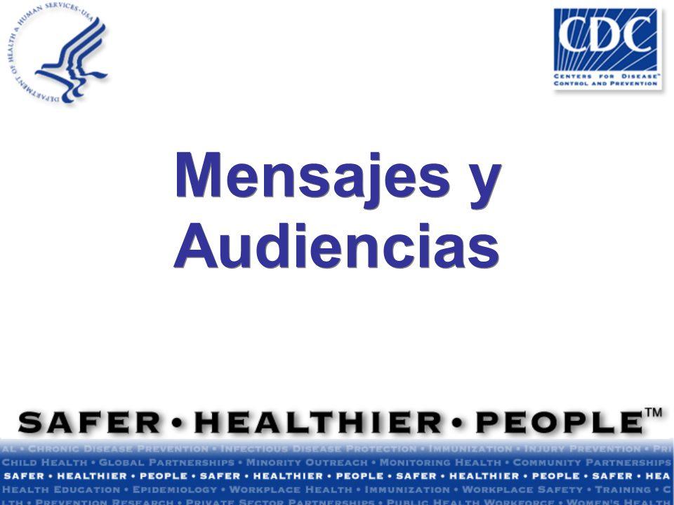 Mensajes y Audiencias